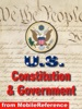 US Constitution, Declaration of Independence, Articles of Confederation, Bill of Rights, and Guide to US Government