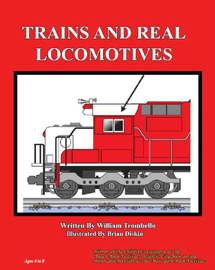 Trains and Real Locomotives book