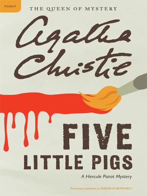 Five Little Pigs - Agatha Christie book