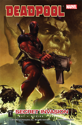 Deadpool, Vol. 1: Secret Invasion - Daniel Way & Paco Medina book