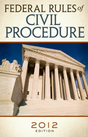 Federal Rules of Civil Procedure 2012