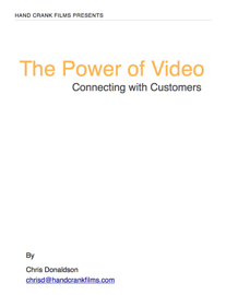 The Power of Video book