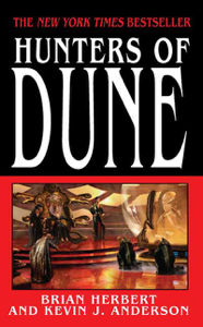 Hunters of Dune Book Cover