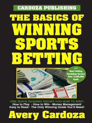 Basics of Winning Sports Betting - Cardoza book