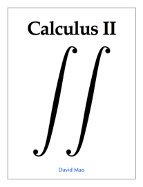 Calculus II book