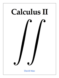 Calculus II Book Review