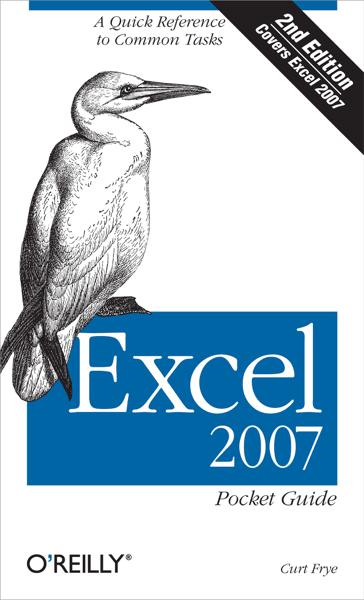 Excel 2007 Pocket Guide