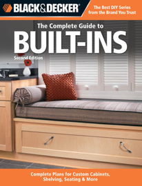 Black & Decker The Complete Guide to Built-Ins book