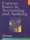 Current Issues In Accounting And Auditing