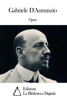 Gabriele D'Annunzio - Opere di Gabriele D'Annunzio artwork