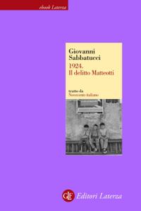 1924. Il delitto Matteotti Copertina del libro