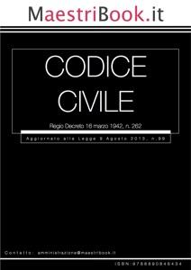 Codice Civile Book Cover