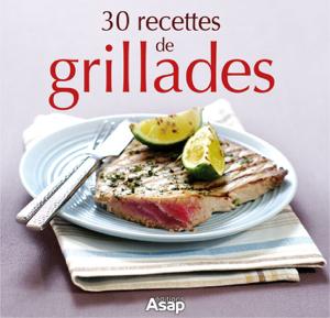 30 recettes de grillades La couverture du livre martien