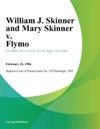 William J Skinner And Mary Skinner V Flymo