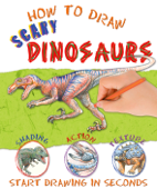 How to Draw Scary Dinosaurs