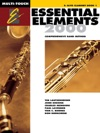 Essential Elements 2000 - Book 1 For E-flat Alto Clarinet Textbook