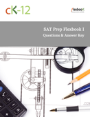 SAT Prep FlexBook (Questions and Answer Key)