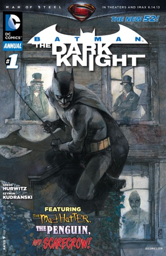 Gregg Hurwitz & Szymon Kudranski - Batman: The Dark Knight (2011- ) Annual #1