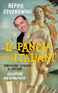 La pancia degli italiani Libro Cover