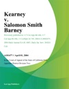 Kearney V Salomon Smith Barney