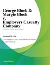 George Block  Margie Block V Employers Casualty Company
