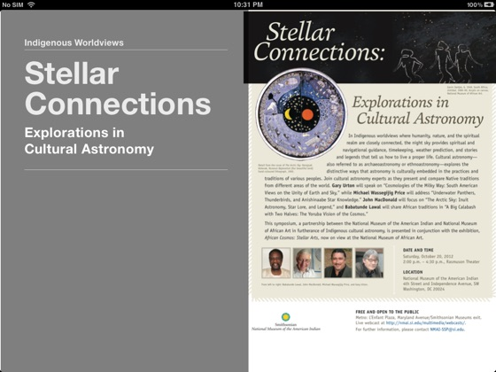 Stellar Connections: Explorations in Cultural Astronomy on