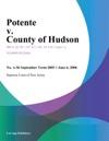 Potente V County Of Hudson