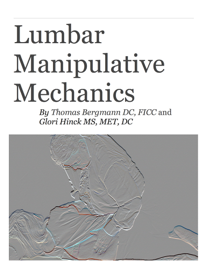 Lumbar Manipulative Mechanics book