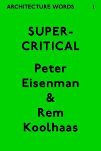 Architecture Words 1: Supercritical La couverture du livre martien