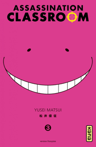 Assassination classroom - Tome 3 La couverture du livre martien