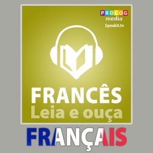 Francês - Livro de Frases | Leia & Escute | Completamente Narrado em Áudio Book Cover