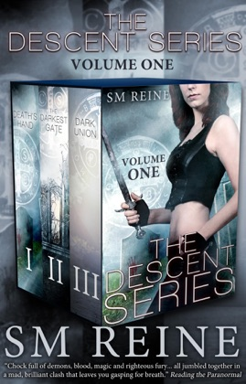 The Descent Series, Books 1-3: Death's Hand, The Darkest Gate, and Dark Union (The Descent Series, #1) book cover