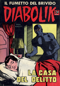 Diabolik #12 Copertina del libro