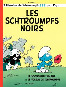 Les Schtroumpfs  - tome 01 - Les Schtroumpfs noirs La couverture du livre martien