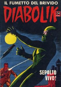 Diabolik #8 Book Cover