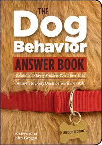 The Dog Behavior Answer Book Copertina del libro