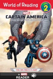 World Of Reading Captain America The Winter Soldier Falcon Takes Flight