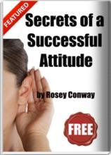 Secrets Of A Successful Attitude