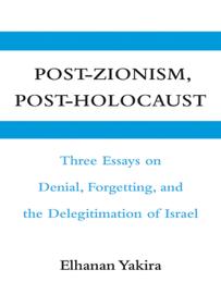 Post-Zionism, Post-Holocaust