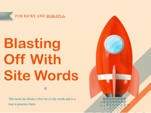 Blasting Off With Sight Words 1 Book Review