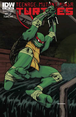 Teenage Mutant Ninja Turtles #1 - Kevin Eastman, Tom Waltz & Dan Duncan book