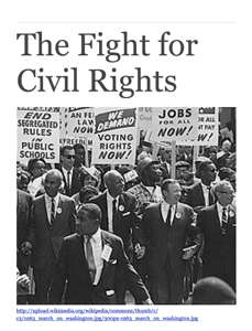The Fight for Civil Rights: 3 Pivotal Speeches Book Review