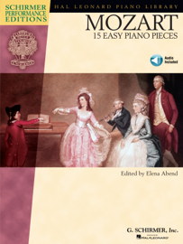Mozart - 15 Easy Piano Pieces (Songbook)