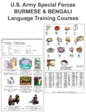 U.S. Army Special Forces Burmese & Bengali Language Training Courses