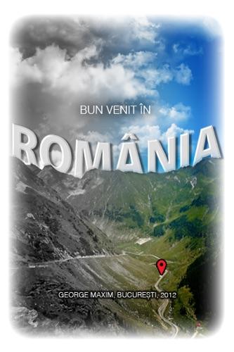 Bun venit în România