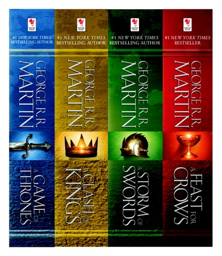 A Game of Thrones 4-Book Bundle - George R.R. Martin - George R.R. Martin