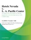 Hotels Nevada V L A Pacific Center