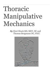 Thoracic Manipulative Mechanics