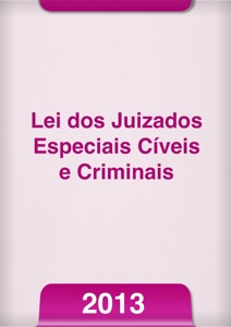 Lei dos juizados especiais 2013 Book Cover