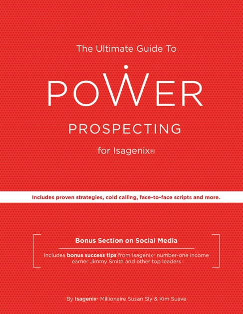 power prospecting different is the new great